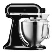 KitchenAid - Artisan Köksmaskin 4,8 + 3 L + Tillbehör Svart