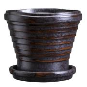 Bergs Potter - Neptune Kruka/Fat 21 cm Vintage Metallic
