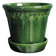 Köpenhavner Kruka/Fat 25 cm Grön emerald